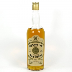 Highland Park 8 Year Old Gordon and Macphail 1970s