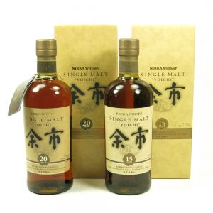 Yoichi 15 and 20 Year Old 2 x 70cl