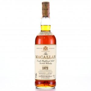 Macallan 1972 18 Year Old / Giovinetti Import