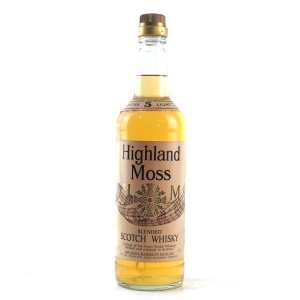 Highland Moss 5 Year Old Scotch Whisky 1980s