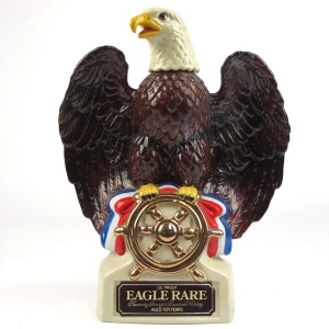 Eagle Rare 10 Year Old Decanter 1980s / Golden Eagle / LEAKING