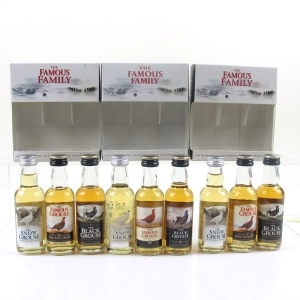 Famous Grouse Miniatures Gift Packs x 3