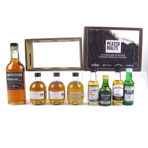 Miscellaneous Single Malt Selection x 8 / Including Auchentoshan Distillery Cask