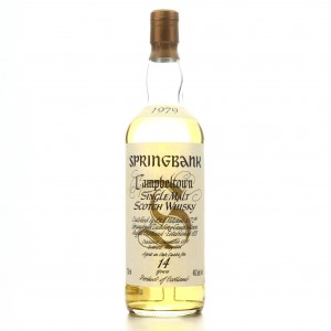 Springbank 1979 14 Year Old 75cl / US Import