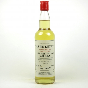 As We Get It Pure Malt 8 Year Old