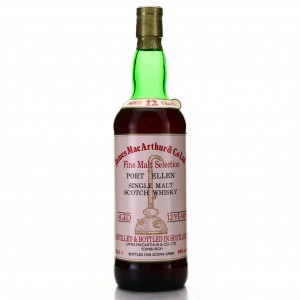 Port Ellen 12 Year Old James MacArthur Cask Strength 59% / Scoma