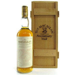 Macallan 1965 Anniversary Malt 25 Year Old / German Import