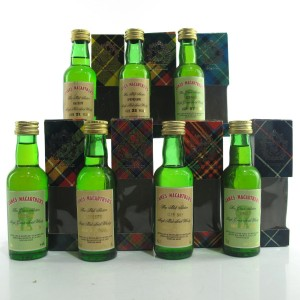 James MacArthur Miniature Selection 7 x 5cl