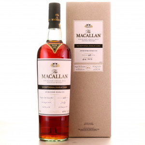 Macallan 2003 Exceptional Cask #9064-03 75cl / 2018 Release - US Import