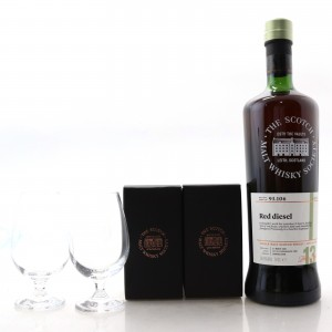 Glen Scotia 2005 SMWS 13 Year Old 93.106 / with 2 x Glasses