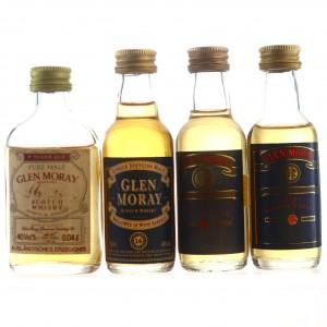 Glen Moray Miniatures x 4