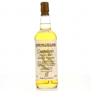 Springbank 1979 12 Year Old 75cl