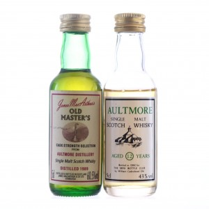 Aultmore Miniature x 2
