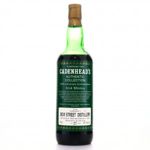 Jameson's Bow Street 1963 Cadenhead's 27 Year Old / 150th Anniversary