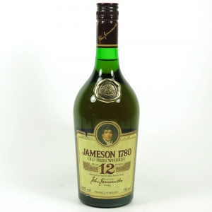 Jameson 1780 12 Year Old 1980s