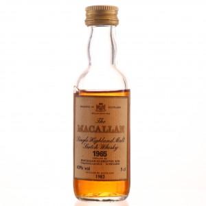 Macallan 1965 Miniature