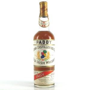 Paddy 10 Year Old Irish Whisky 1960s