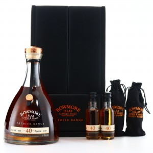 Bowmore 1967 Premier Range 40 Year Old Single Cask #4538 90cl / with Miniatures 2 x 5cl