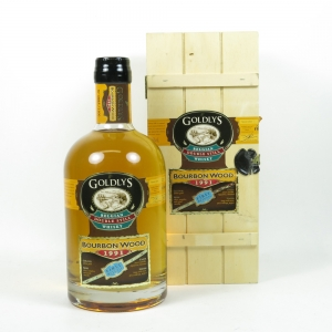 Goldlys 1991 Belgian Double Still Whisky Bourbon Wood First Release front