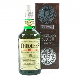 Chequers 12 Year Old Blended Whisky 75cl