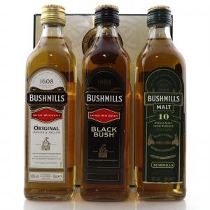 Bushmills 400th Anniversary Pack / 3 x 35cl