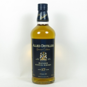 Allied Distillers Special Edition 17 Year Old (Ballantines) front