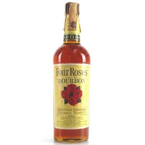 Four Roses 6 Year Old Kentucky Straight Bourbon 1960s / Ferraretto Import