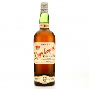 Ainslie's King's Legend Finest Scotch Whisky 1950s/60s