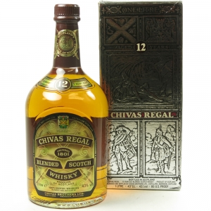 Chivas 12 Year Old 1 Litre 1980s