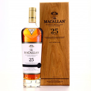 Macallan 25 Year Old Sherry Oak 2019 Release