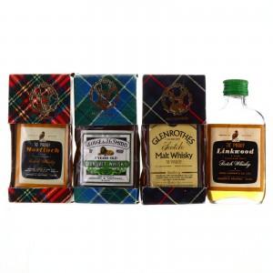 Gordon and MacPhail Miniatures x 4 / includes Glenlivet