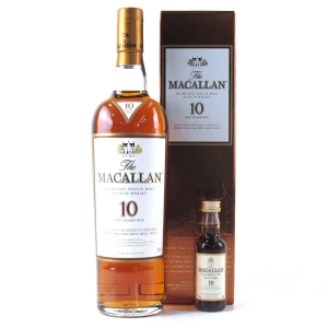 Macallan 10 Year Old / Including 5cl
