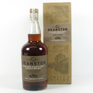 Deanston 1998 Toasted Oak Cask Strength front