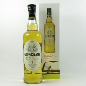Glen Grant 5 Year Old front