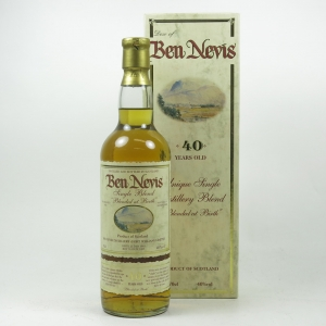 Dew of Ben Nevis 40 Year Old Single Blend Front