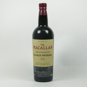 Macallan 1876 Replica Front