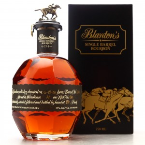 Blanton's Single Barrel Black Label dumped 2020/ Japanese Import