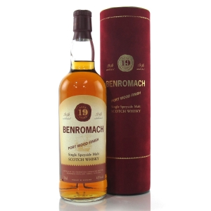 Benromach 19 Year Old Port Wood