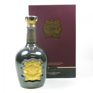 Chivas Royal Salute 38 Year Old Stone of Destiny Front