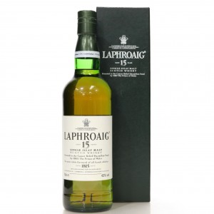 Laphroaig 15 Year Old / Prince of Wales Charity Bottle