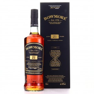 Bowmore 21 Year Old Pedro Ximénez Finish