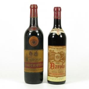 Contratto Barolo 1964 & Riggardo Cortese Barolo 1961 2 x 72cl
