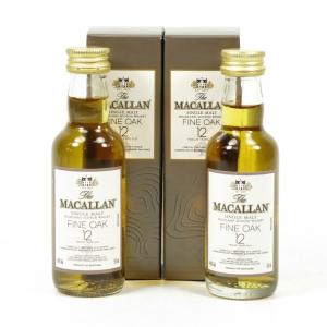 Macallan 12 Year Old Fine Oak 2 x 5cl