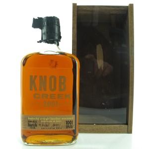 Knob Creek 2001 Limited Edition 100 Proof Batch #1