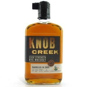 Knob Creek 2009 Cask Strength Rye Whiskey