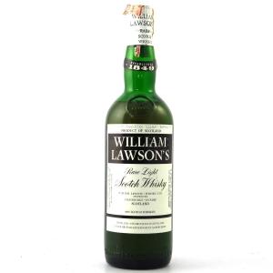 William Lawson's Rare Light Scotch Whisky 1970s