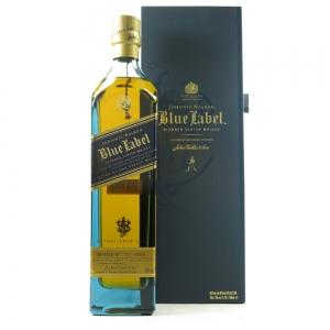 Johnnie Walker Blue Label in Presentation Box With Tiepin