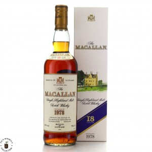 Macallan 1978 18 Year Old