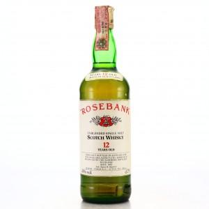 Rosebank 12 Year Old Distillers Agency 1980s / Zenith Import