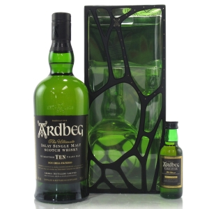 Ardbeg 10 Year Old Gift Pack / Includes Uigeadail Miniature 5cl
